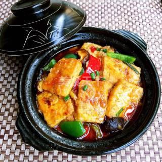 麻辣豆腐锅的做法步骤:13