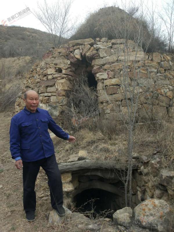 东窑沟:小山村深藏千年制陶史 已废弃的制陶窑址。