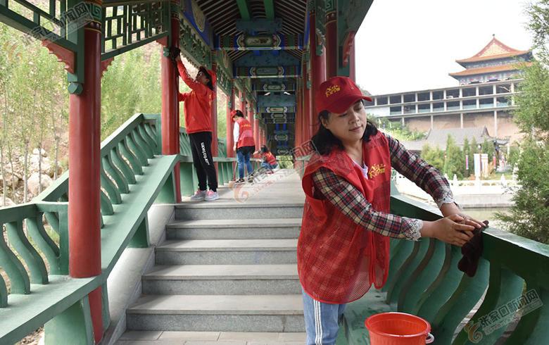志愿服务美家乡
