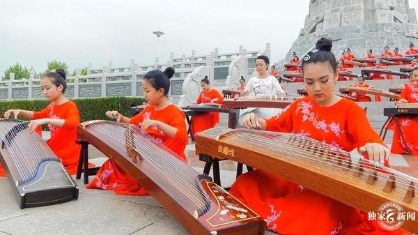 涿鹿县举行第二届中国古筝日演出活动