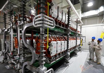 张北:开启清洁电能输送新模式