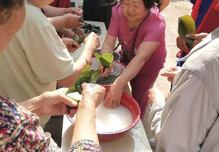 桥东多社区开展端午节活动