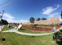 张家口明城墙遗址公园尽展古城历史魅力