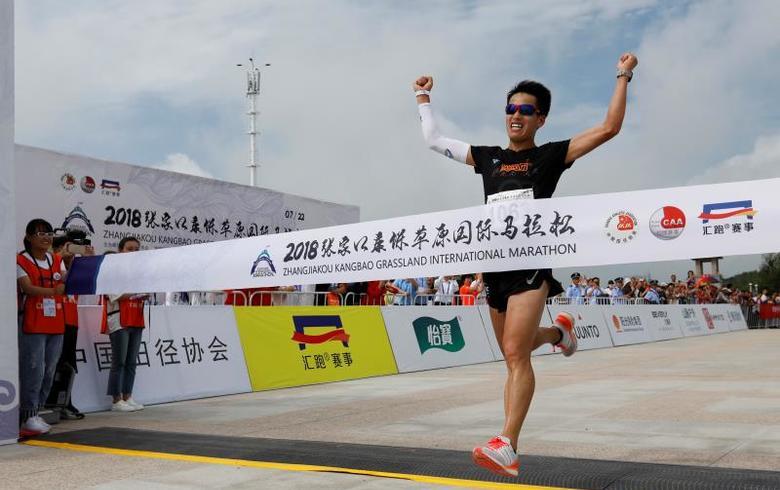 2018张家口·康保草原国际马拉松赛激情开跑