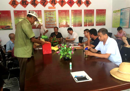 涿鹿县审计局驻村工作队深入基层,搞好换届工作