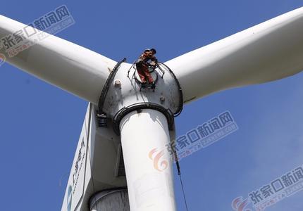 """""""借""""风能资源 大力推进绿色能源发展"""