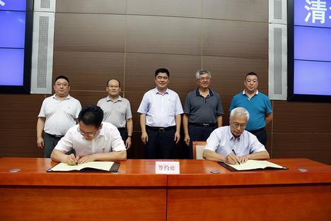 国杰研究院和高新区签订战略合作协议