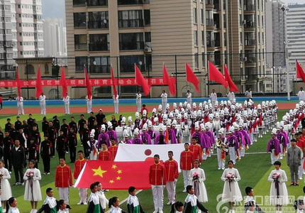 橋西區第九屆陽光體育運動會今日開幕