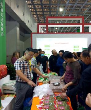 涿鹿縣龍頭企業特色農產品亮相第22屆廊交會