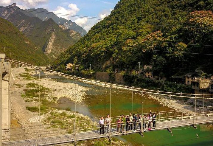 重慶巫溪:山中秘境游受歡迎