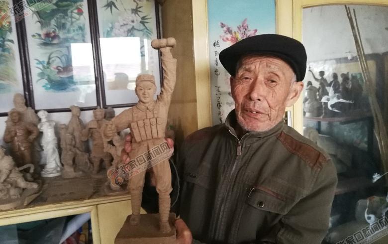 民間泥塑師李兆銀的冬奧情緣