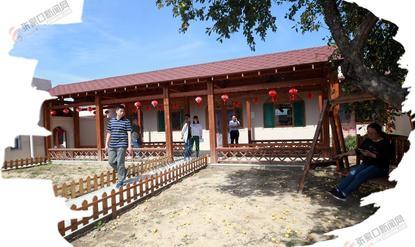 【跟着党报去扶贫】北庄堡村:昔日窑洞村今成风景点