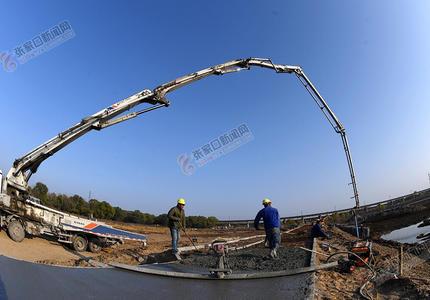 怀来:官厅水库八号桥水质净化湿地工程建设酣