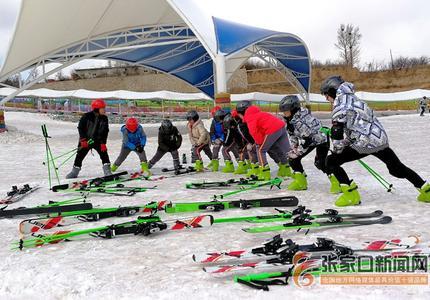 张家口怀来:掀起冬季冰雪运动热潮