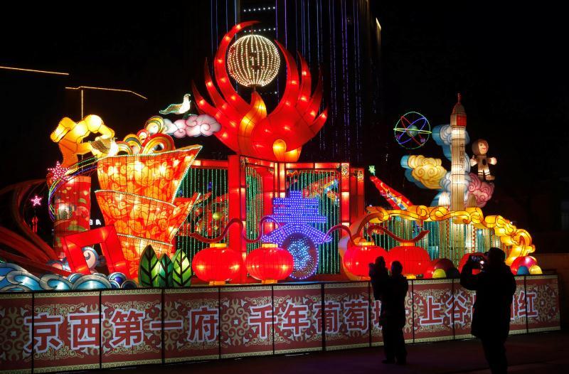 红火中国年·宣化区迎春灯会小年精彩亮相