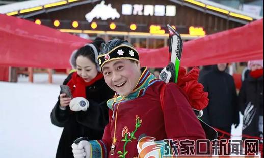 """""""红红火火中国年""""搅热冰雪经济近17万游客雪场迎春"""