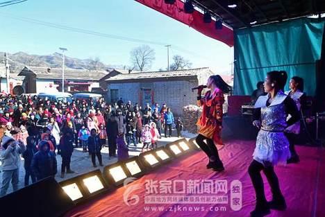 张家口怀来: 正月里来唱大戏 欢天喜地庆新春