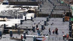 2022年冬奧會奧運村建設正酣