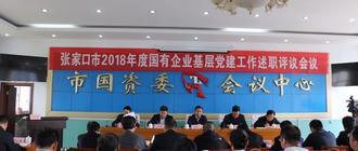 2018年度国有企业基层党建工作述职评议会召开
