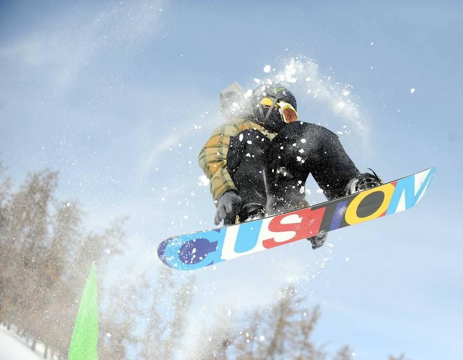 冬奥会比赛项目——单板滑雪