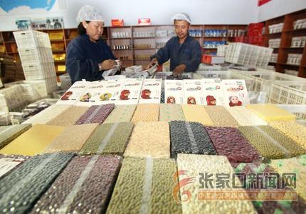 """飘香国际""""小杂粮""""  农民致富""""金庄稼"""""""