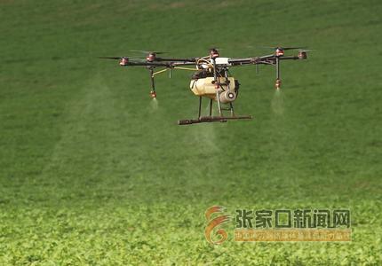 塞北:无人机植保促增收