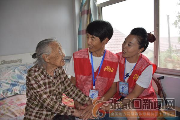 王海龙:志愿服务温暖乡亲