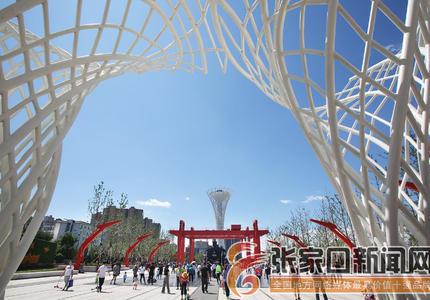 宜居游园增加城市文化内涵