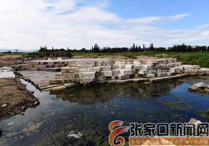 宣化:洋河湿地治理工地发现明代古桥遗址