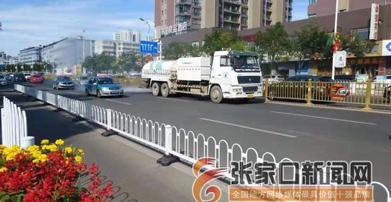 橋東區打響迎雙節市容市貌攻堅戰