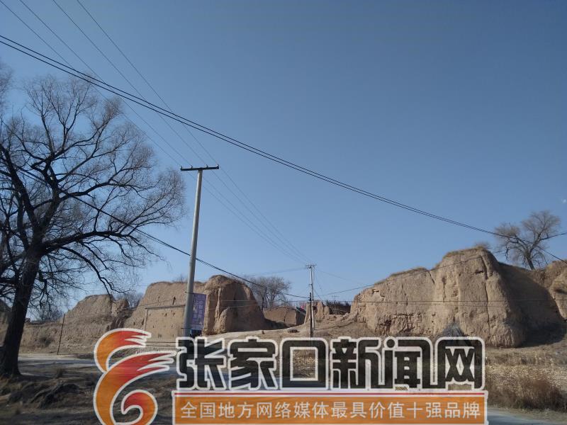 【名城古镇行】张家口前上营军堡:一个王朝的背影 残缺的前上营军堡堡门口