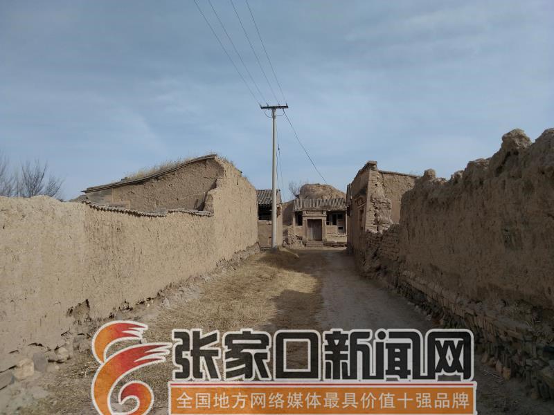 【名城古镇行】张家口前上营军堡:一个王朝的背影 前上营军堡街道