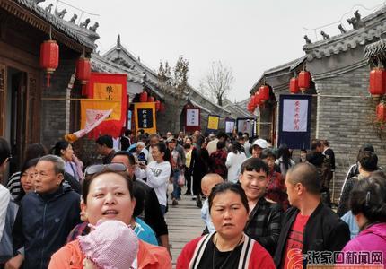 國慶假期:懷來古城游人如織