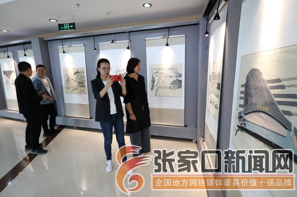 《庆祝新中国成立70周年暨重走百年京张书画艺术展》开展