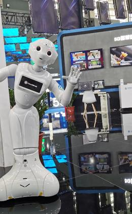 中国移动展台亮相2019中国国际数字经济博览会