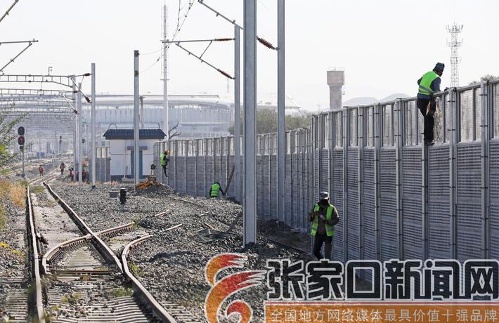 京张高铁辅助工程全面推进