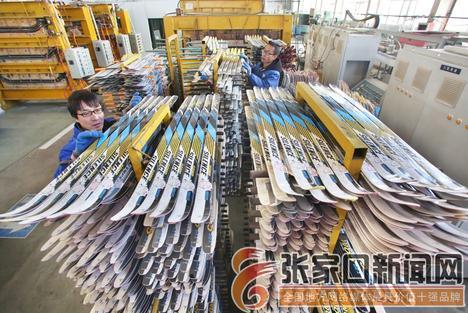冰雪裝備制造產業瞄準全球市場