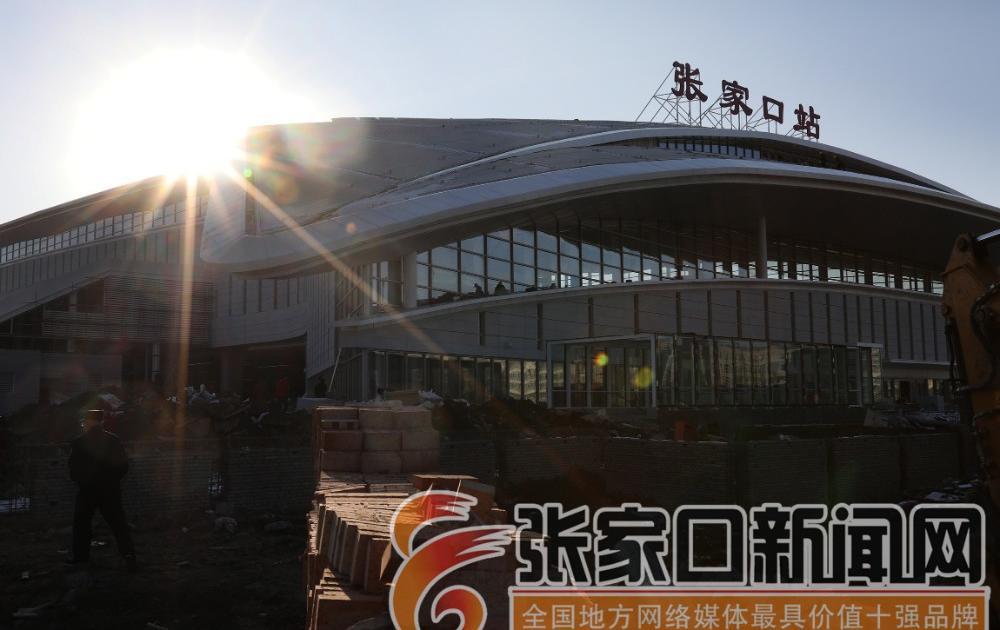 京张高铁张家口站建设的怎么样了?大量实景照片带你抢先看!