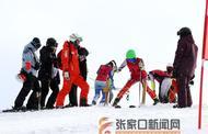 張家口:首屆中小學生滑雪賽在崇禮開賽