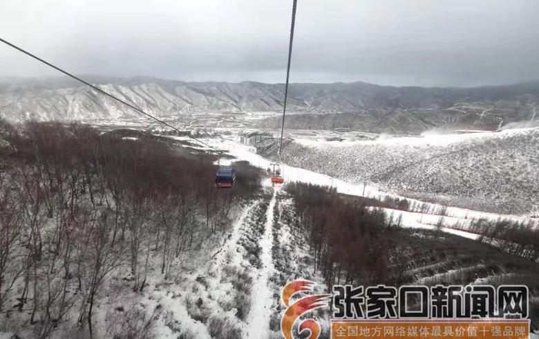 崇礼:冬奥之城又飞雪