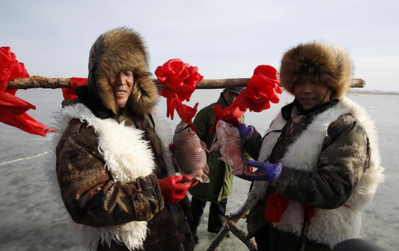 沽源第二屆庫倫天鵝湖冰雪漁獵文化節即將開幕