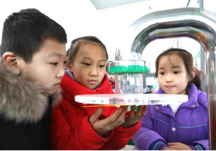 中國流動科技館河北省巡展在橋東區開展