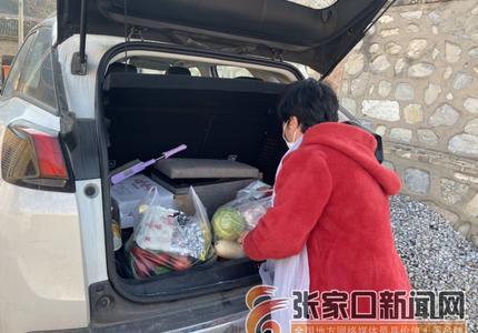 返鄉隔離在家  村民免費送菜