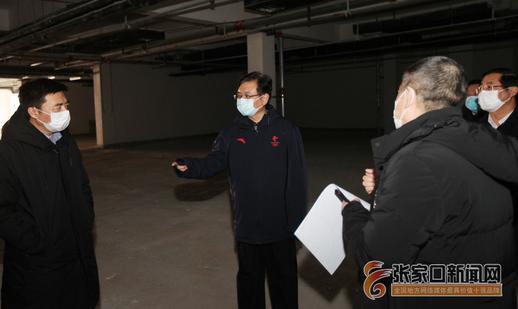 在一線|武衛東到經開區調研醫用口罩生產線規劃建設情況