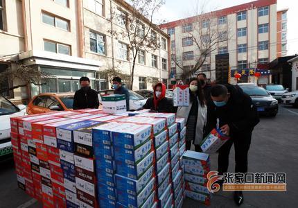 愛心企業捐送物資 為疫情防控加油助力