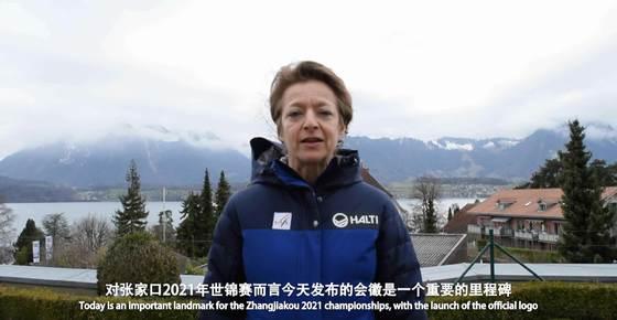 國際雪聯秘書長莎拉劉易斯對張家口2021世錦賽的寄語