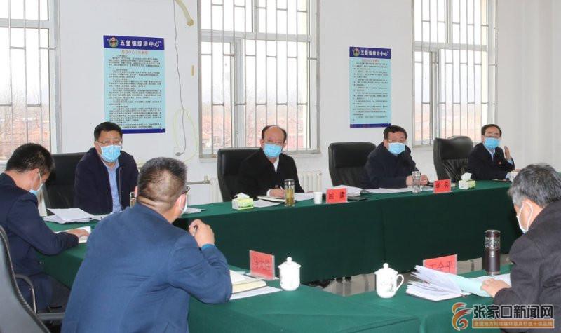 回建在涿鹿县调研检查