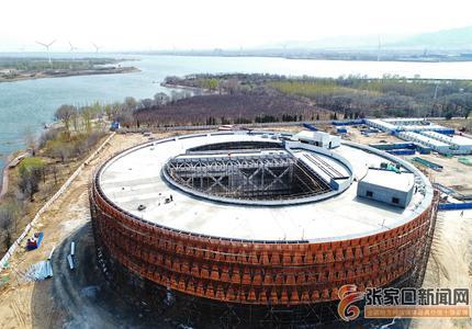 張家口懷來:濕地博物館主體工程即將完工