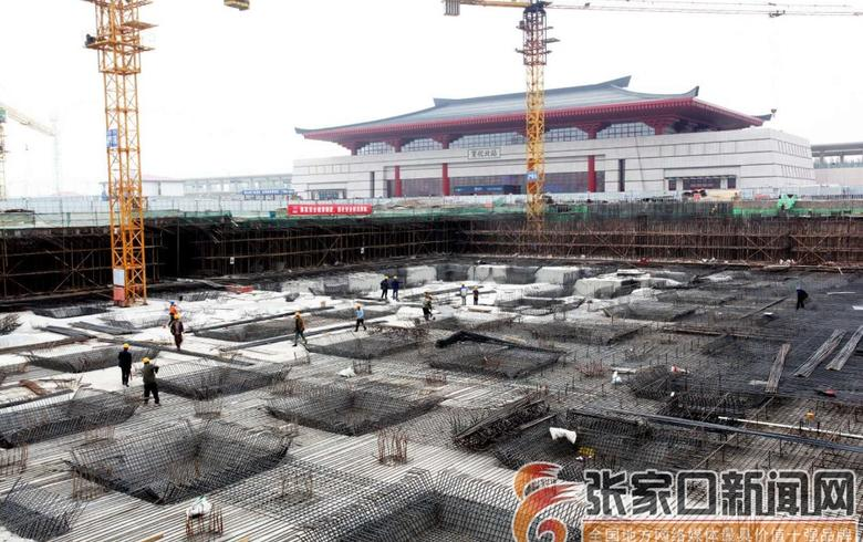 宣化:京张高铁宣化北站服务设施加紧建设