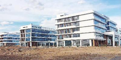 冬奧醫療衛生重點保障項目——— 市中心血站采供血業務樓和急救中心項目6月底交工